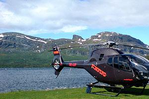 Helikopter på sommaren